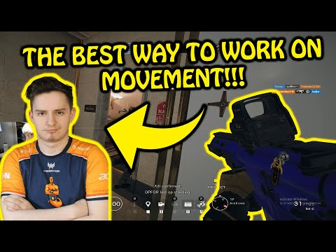 HOW PRO PLAYERS GET BETTER MOVEMENT!! - Rainbow Six Siege