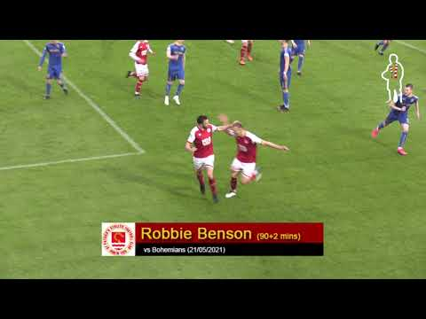Goal: Robbie Benson (vs Bohemians 21/05/2021)