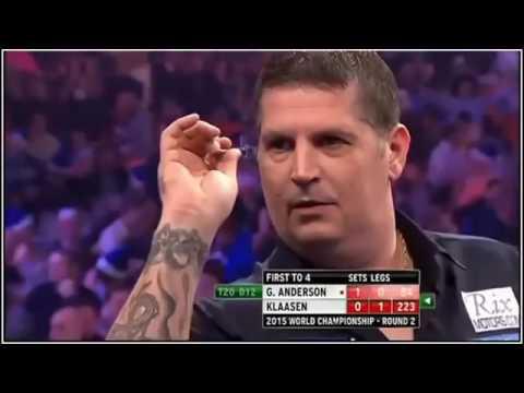2015 World Darts Championship Round 2 G.Anderson vs Klaasen