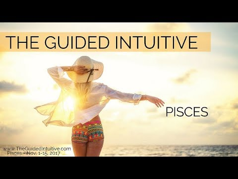 PISCES - NOVEMBER 1-15, 2017 - PEACE AT LAST!
