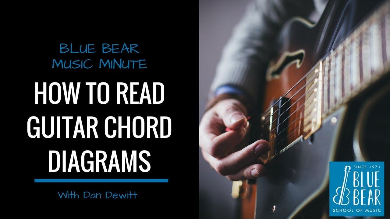 Blue Bear Minute Lesson How To Read Guitar Chart Diagram Youtube Howtoreadchorddiagramschartjpg