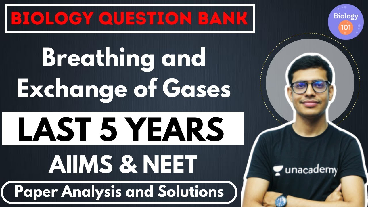 Breathing and Exchange of Gases | Paper Analysis and Solution | NEET Biology | NEET UG