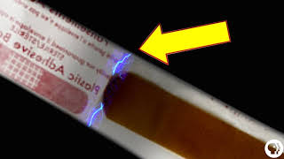 Bandaids glow when opening?! - Everyday Mysteries
