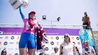 Congratulations Carissa Moore: 2011 ASP Womens World Tour Champion