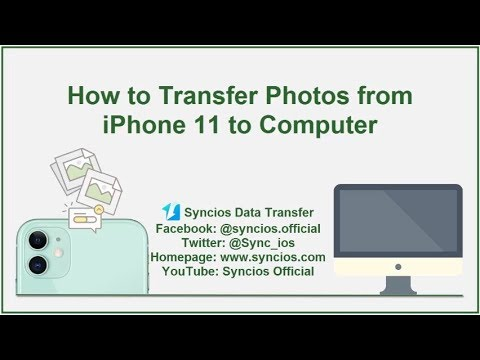 How to Transfer Photos from iPhone 11 to Computer