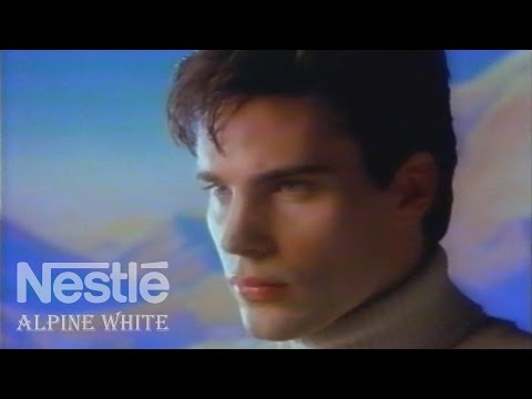 "Nestlé Alpine White ""Sweet Dreams"" Commercial 1986 - Maxfield Parrish"