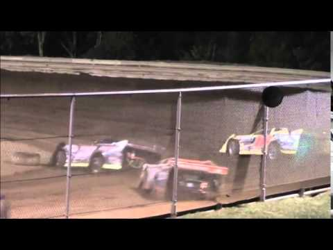 AMRA Late Model Heat #3 from Ohio Valley Speedway 9/6/14.