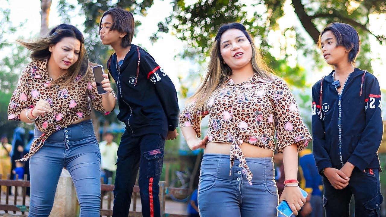 Mujhe apna iPhone 11 Pro De Do Prank On Cute Girl   Funny Comedy Reaction   Prank In India   BRUncut