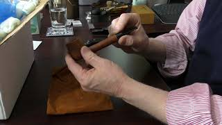 Opening a box of estate pipes