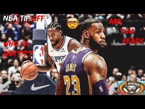 🏀 NBA Tip-off! Lakers vs Clippers👀Lebron James vs Kawhi Leonard Preview