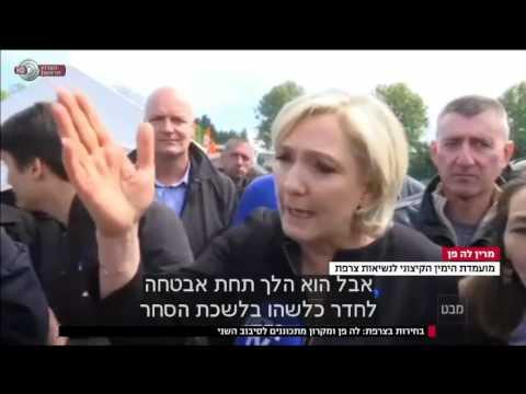 מבט - עשרה ימים לבחירות בצרפת, מרין לה פן בפיגור ניכר בסקרים