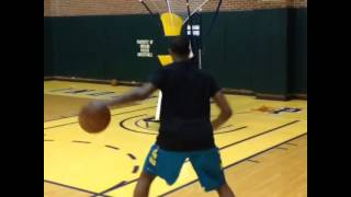 Paul George shooting off the dribble with the gun summer 2014 instagram