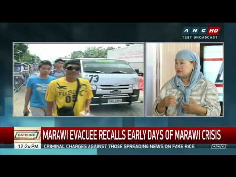A mother's love: How a widow led her 4 children to safety from Marawi Part1
