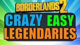 Borderlands 2: CRAZY EASY LEGENDARIES (No DLC Required!)