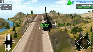 Police Helicopter Simulator Police Chase,Rescue Mobile Game