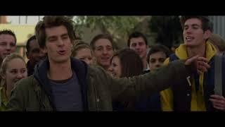 Новый Человек паук. Флэш жестоко избивает Питера на глазах всей школы