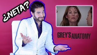DOCTOR REACCIONA A SERIES MÉDICAS  | GREY'S ANATOMY | DOCTOR VIC
