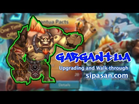 Gargantua Familiar Upgrading And Walk-through
