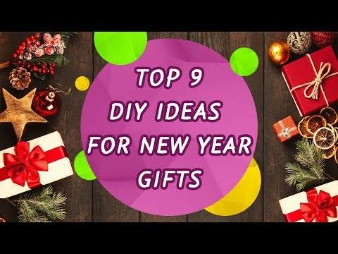 Top 9 DIY ideas for New Year gifts