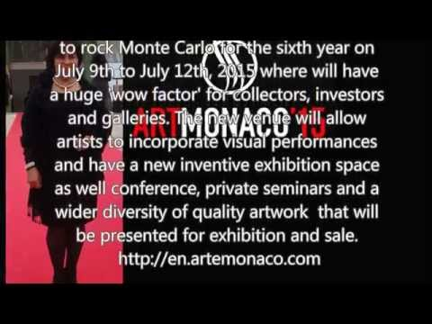 Mona Youssef Gallery at Art Monaco 2015