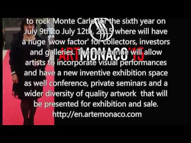 Mona Youssef Gallery at Art Monaco 2015