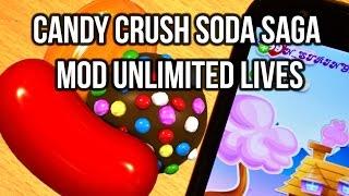 Candy Crush Soda Saga Mod APK Unlimited Lives 2015