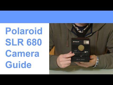 How To Use The Polaroid SLR 680 Camera