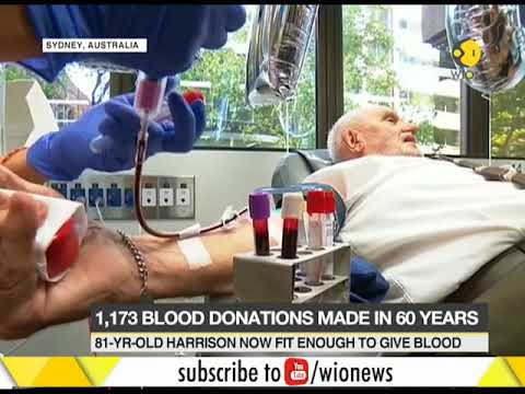 'Man With the Golden Arm' makes final blood donation after saving millions of babies