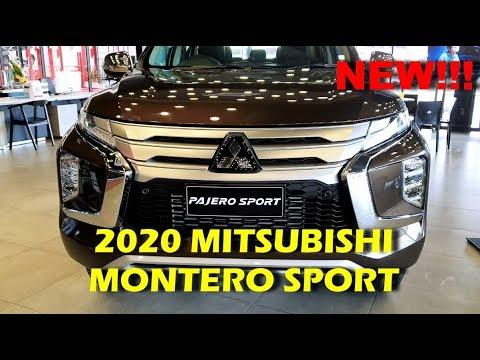 2020 Mitsubishi Montero Sport Interior And Exterior HD
