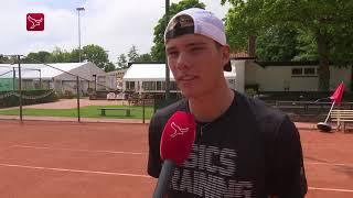 Tennistalent Nijboer begint weer onderaan de ladder