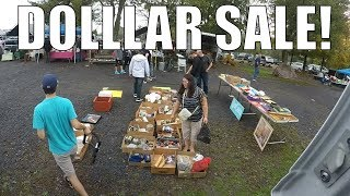 Flea Market Selling Vlog - The Dollar Days are Back