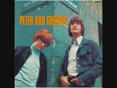 black,brown and gold-PETER AND GORDON