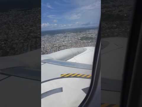 Landing at Zanzibar Airport. 21/04/2017