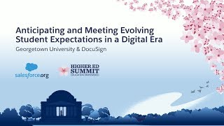 Anticipating and Meeting Evolving Student Expectations in a Digital Era