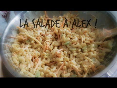16/08/2015: Mini épicerie, la salade de macaroni à Alex + LA plus grosse araignée !