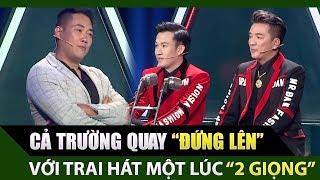 Đàm Vĩnh Hưng, Minh Vy 'bật khỏi ghế' vì Chàng Trai đặc biệt