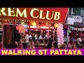WALKING STREET PATTAYA THAILAND MARCH 2019 NIGHT LIFE  AND RUSSIAN GIRLS SCAMS IN WALKING ST