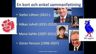 Vad står Socialdemokraterna för (S) [En kort och enkel sammanfattning] [Svenska partier]