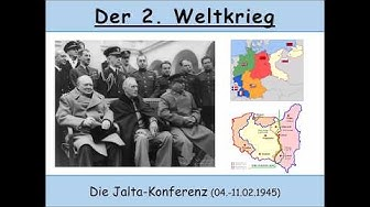 Die Jalta-Konferenz 04.-11.02.1945