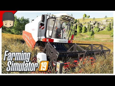 NEW TRACTOR & THE FIRST HARVEST : Ep.02 (Let's Play Farming Simulator 19)