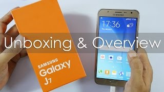 Samsung Galaxy J7 4G Smartphone Unboxing & Overview
