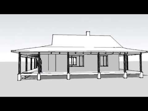 Типовой проект соломенного дома