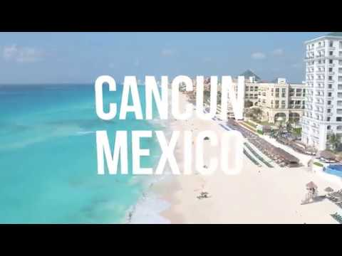 A Look at Cancun, Mexico From a Drone
