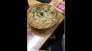 Noodles and Snake liquor