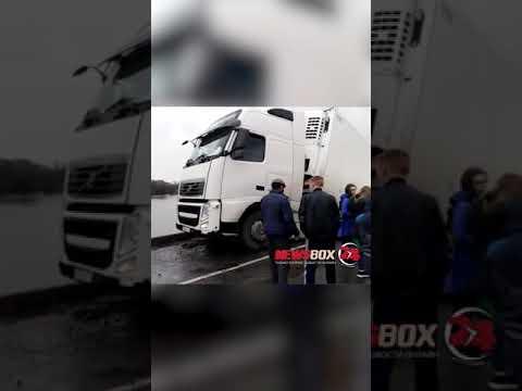 Водитель фуры, под которой упал мост в Осиновке, останется под домашним арестом  до конца  апреля