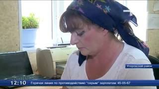 Беженка с Украины стала тюменской дояркой