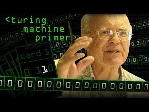 Turing Machine Primer - Computerphile