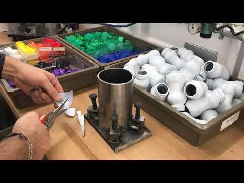 HDPE Plastic Damascus Mallet    Quick Cuts