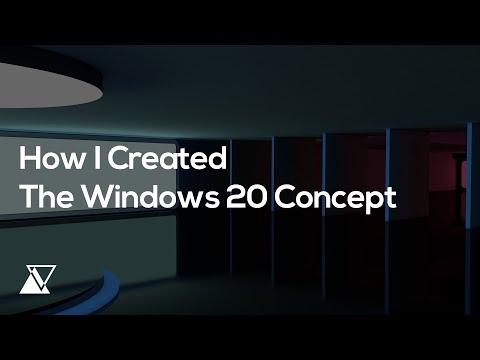 How I Created The Windows 20 Concept?