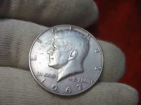 Coin USA half dollar 1967 liberty  Kennedy 40% Silver Composition: Value and Prices